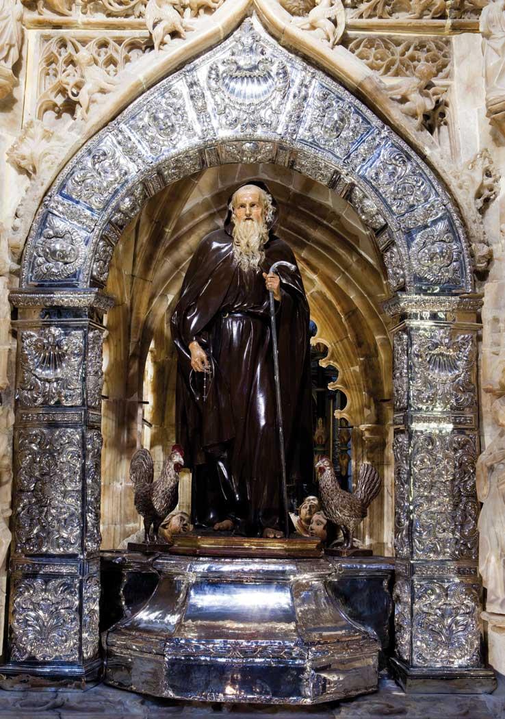 Domingo de la Calzada, Santo - Xacopedia